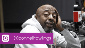 Donnell Rawlings at Hot 107.9