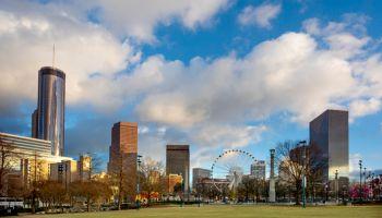 USA, Atlanta, Georgia Skyline