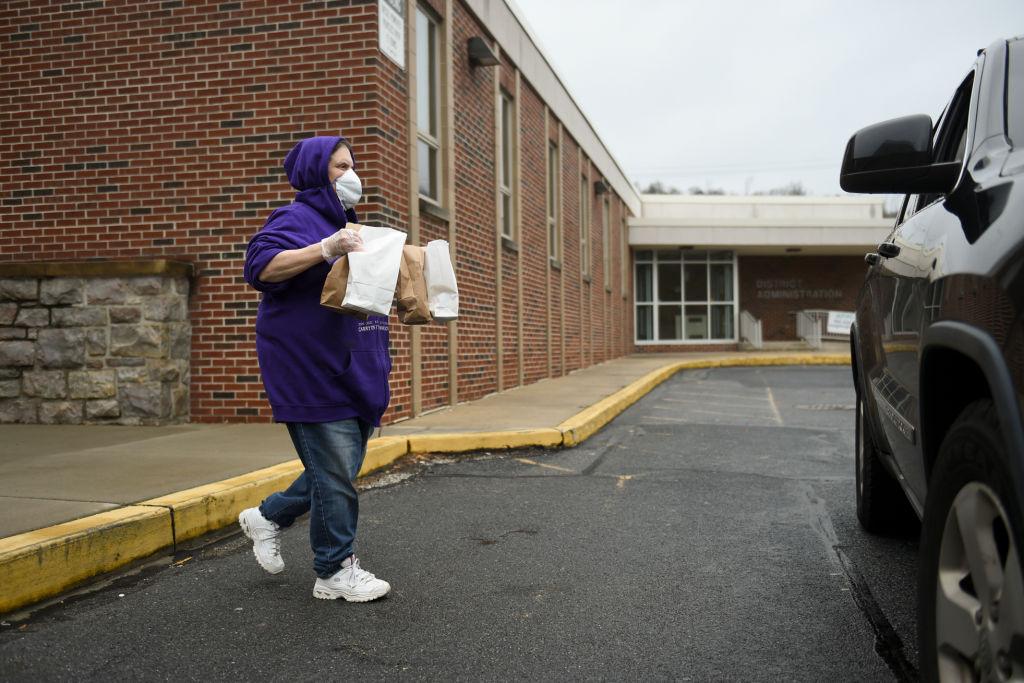 Pennsylvania Schools Distribute Lunches While Closed For Coronavirus