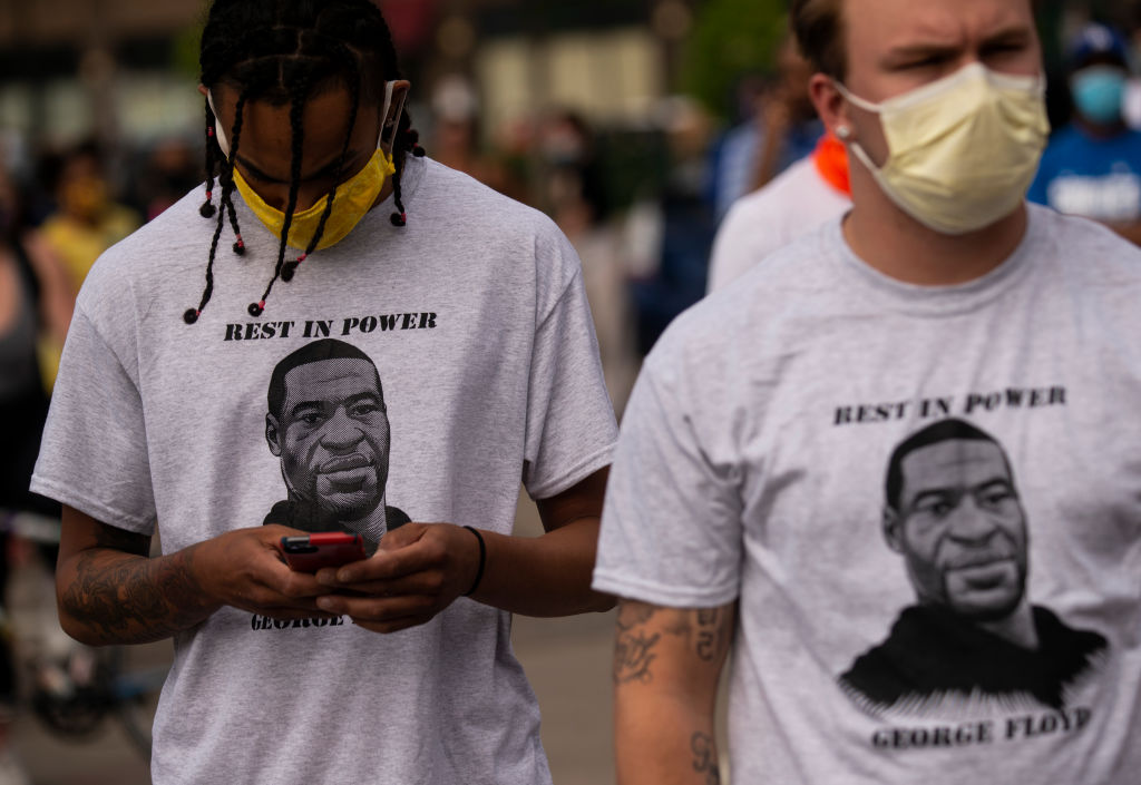 'I Can't Breathe' Protest Held After Man Dies In Police Custody In Minneapolis