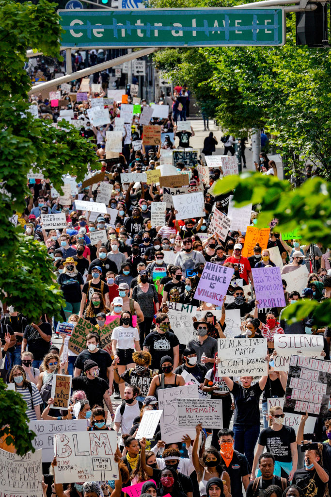 Protests continue over the death of George Floyd in Atlanta