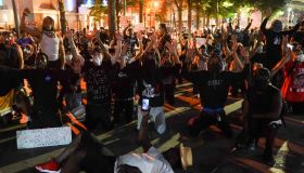 Atlanta Protest Held In Response To Police Custody Death Of Minneapolis Man George Floyd