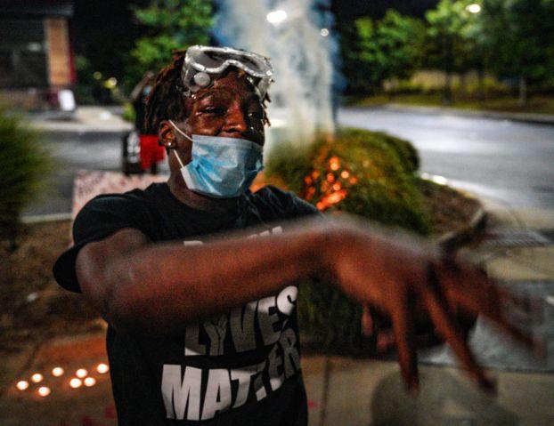 US: Anger in Atlanta over fatal shooting of black man