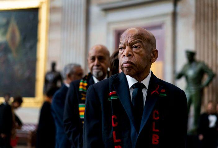 WASHINGTON, DC - OCTOBER 24: Civil Rights icon Congressman John