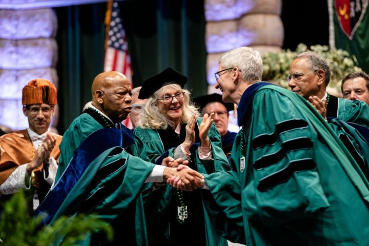 Apple CEO Tim Cook Addresses Tulane University Graduates At Commencement 2019
