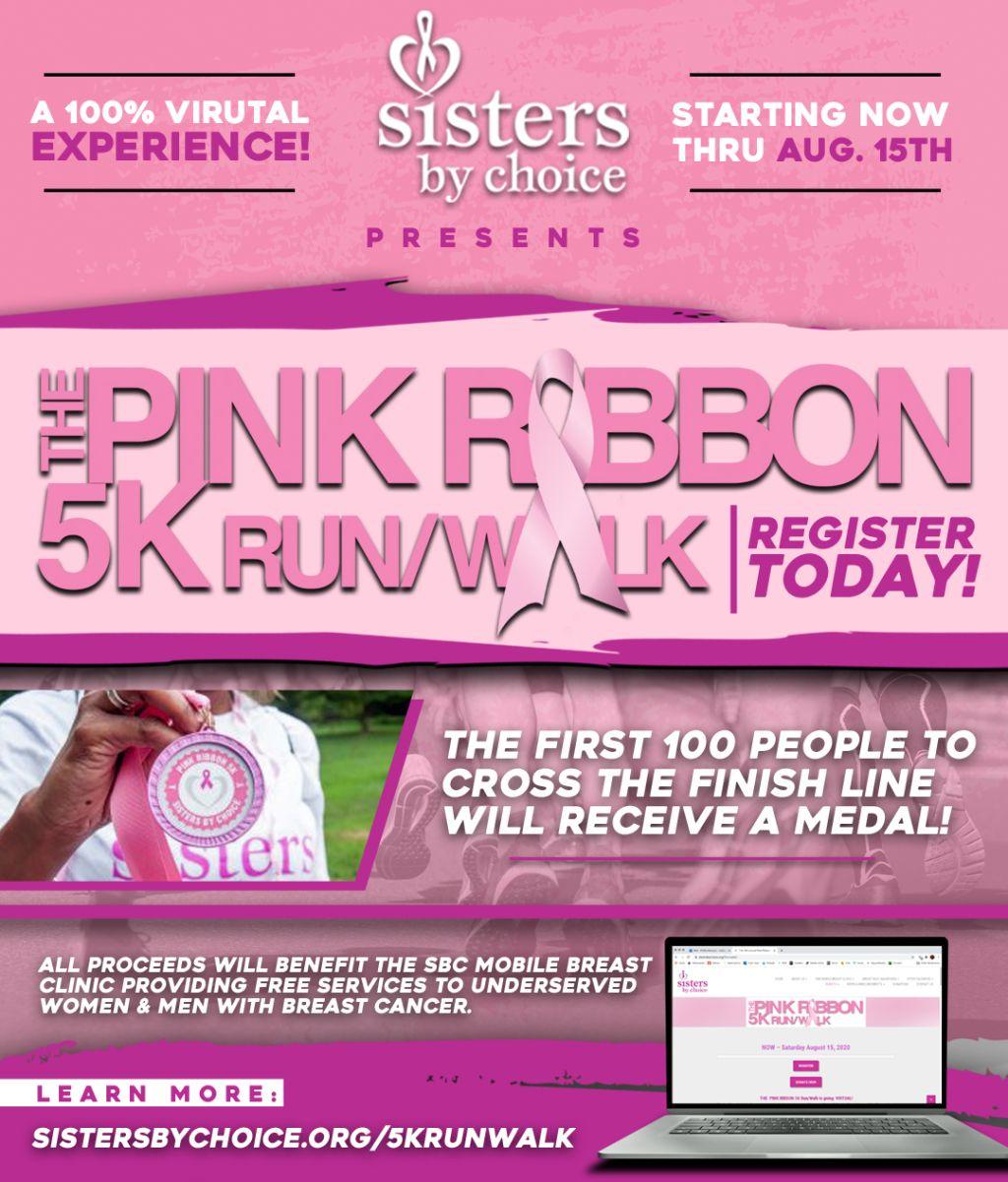 Sisters By Choice | The Pink Ribbon 5K Run/Walk