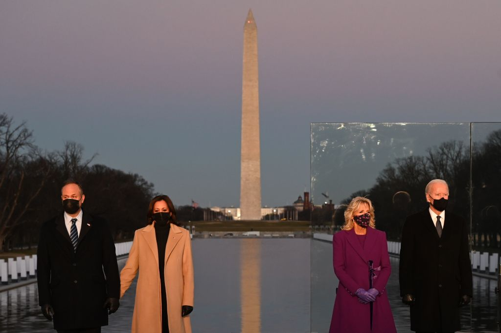 US-POLITICS-INAUGURATION-HEALTH-VIRUS-MEMORIAL