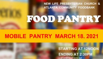 New Life Presbyterian Church & Atlanta Community Food Bank   Mobile Food Pantry
