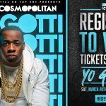 REGISTER TO WIN: Yo Gotti Live At Cosmopolitan March 20th