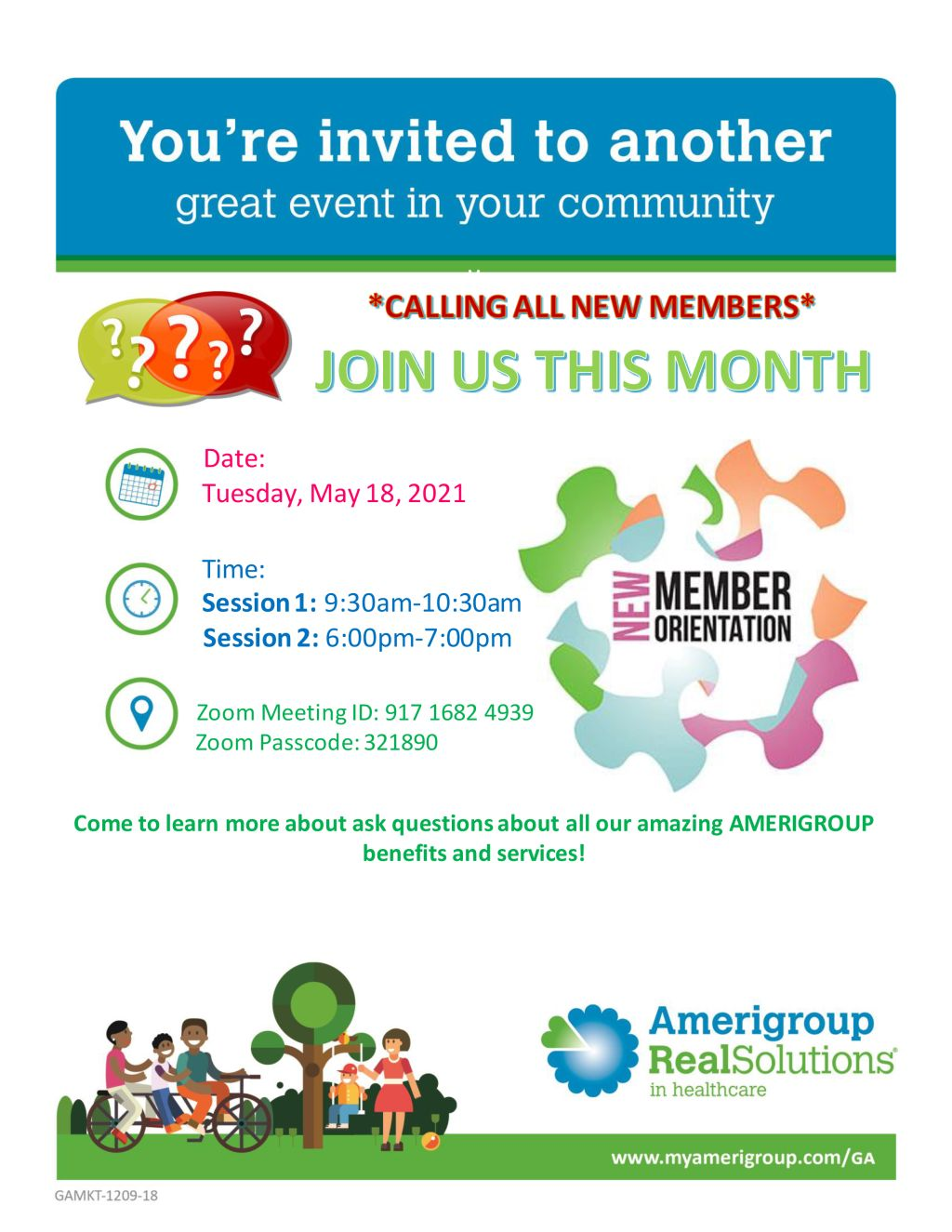 Amerigroup | May Events