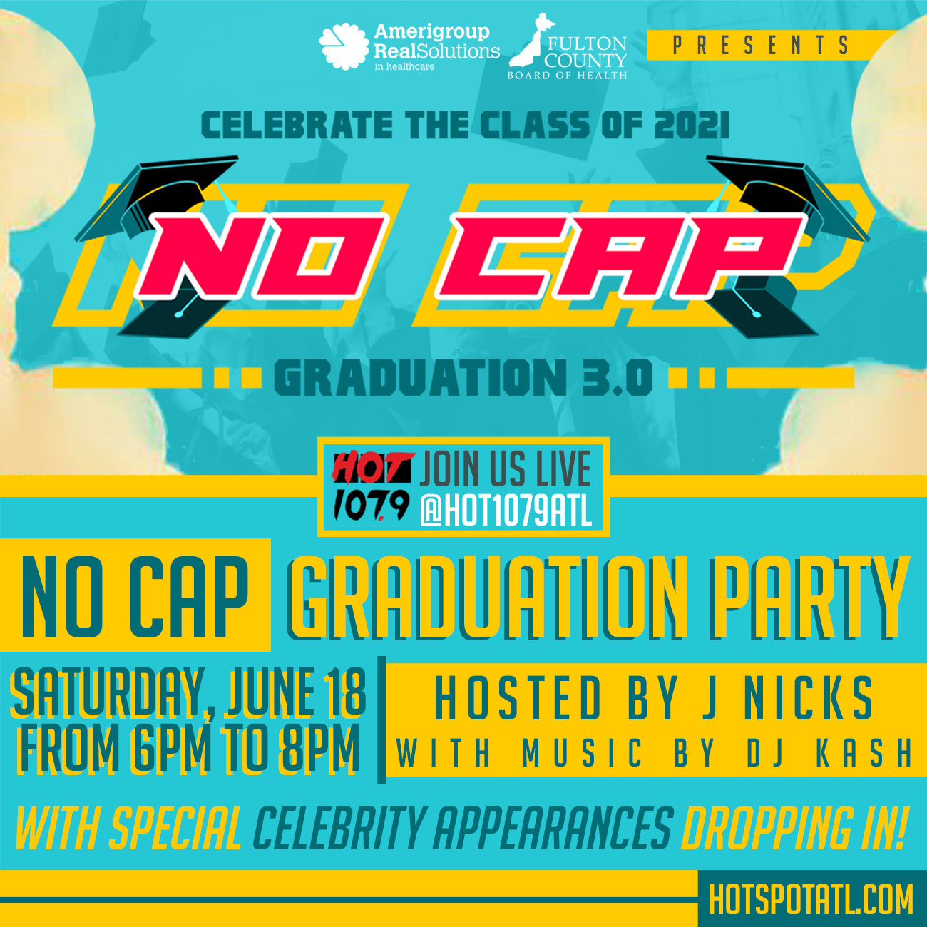 No Cap Graduation 3.0