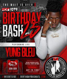 Birthday Bash ATL 25 performers