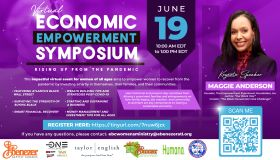Ebenzer Baptist Church | Virtual Economic Empowerment Symposium