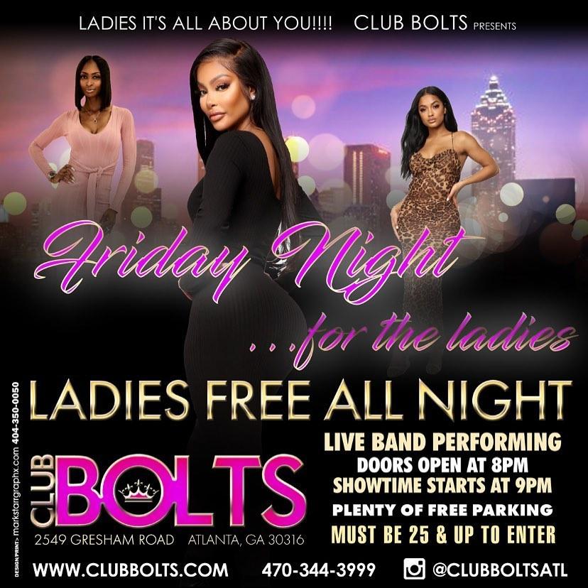 Club Bolts | Friday Night Ladies Night