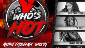 Who's Hot   Artist Showcase Concert