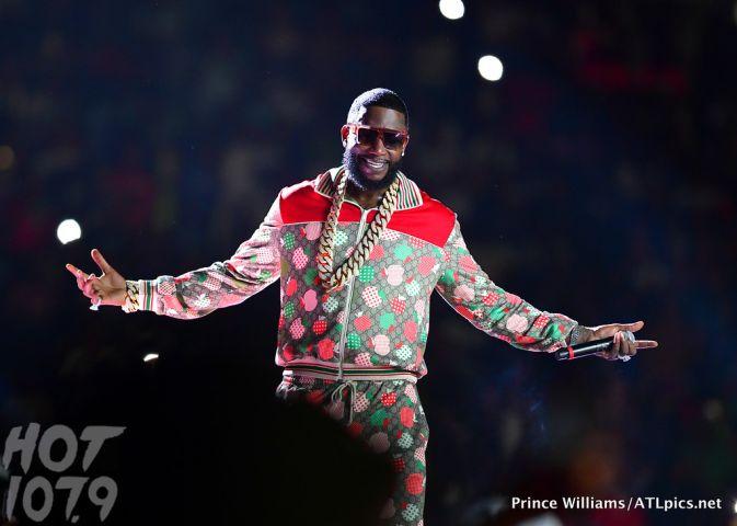 Gucci Mane at Birthday Bash
