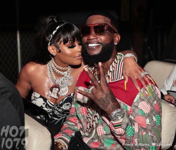 Gucci Mane and Keyshia Ka'oir at Birthday Bash