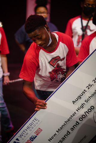 1-800-TruckWreck & Radio One Atlanta award $10,000 to 3 area High School Bands