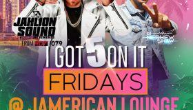 Jamerican Lounge: I Got 5 On It Fridays