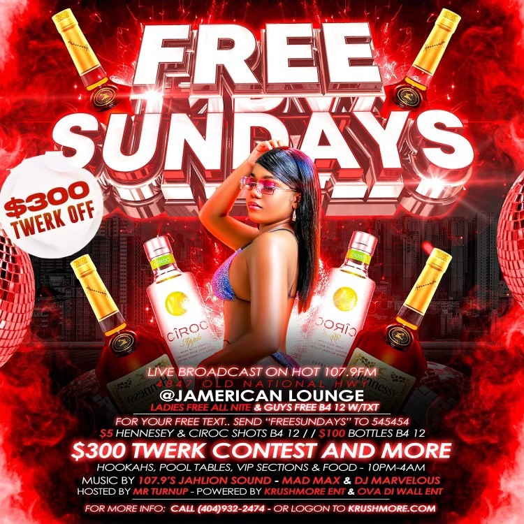 Jamerican Lounge: Free Sundays