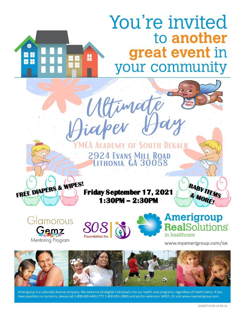 Amerigroup Ultimate Diaper Day Dekalb