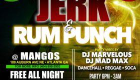 Krushmore ATL | Jerk & Rum Punch Thursday's Only At Mangos!