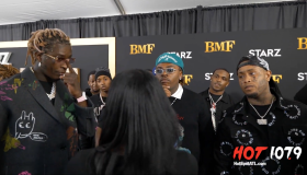 Young Thug, Gunna & Lil Meech Pay Homage to BMF at Red Carpet Premiere [Video]