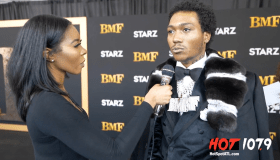 Lil Meech Talks to K.Samone At The BMF Premiere [Video]