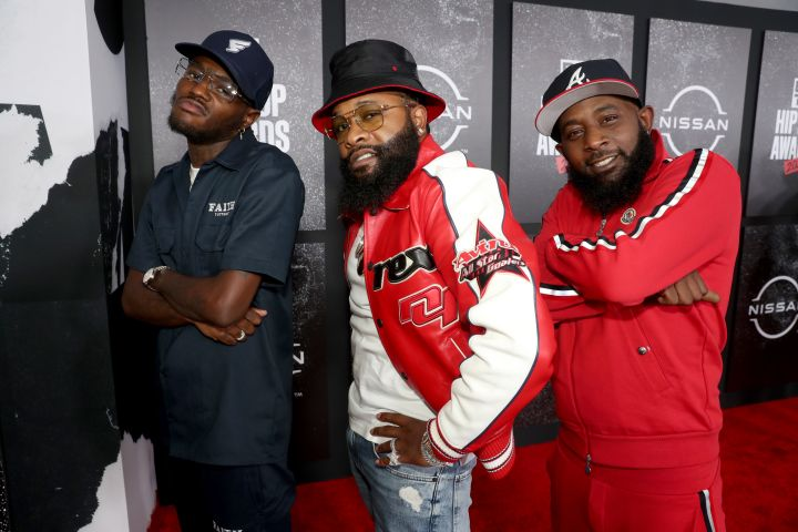 D.C. Young Fly, Chico Bean and Karlous Miller of 85 South