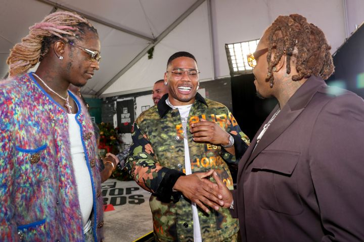 Young Thug, Nelly, and Gunna