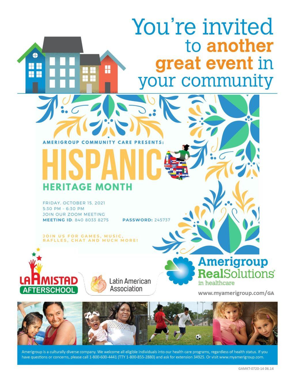 Amerigroup Hispanic Heritage Month