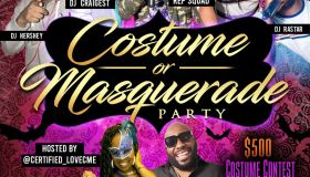 Costume or Masquerade Party
